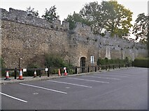 TL8564 : Bury St Edmunds Abbey precincts [9] by Michael Dibb