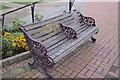TF5663 : A venerable bench by Bob Harvey