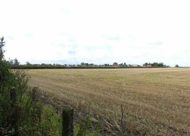 View towards Barnstone
