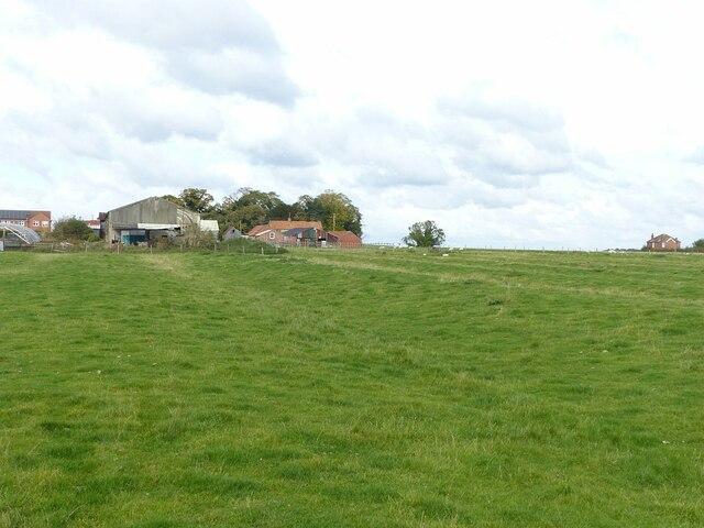 At the back of Church Farm, Barnstone