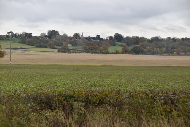 View towards Pluckley