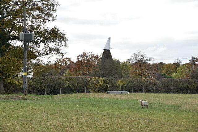 Giles Farm Oast by N Chadwick