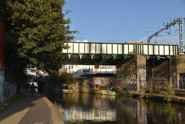 Railway bridge, Regent's Canal