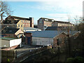 ST8557 : Former textile mills on Court Street, Trowbridge by Chris Allen