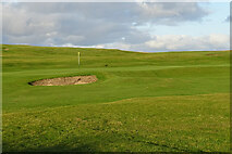 NK0164 : Fraserburgh Golf Course by Anne Burgess