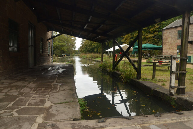 The Terminus of the Cromford Canal, Derbyshire