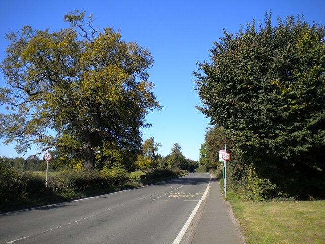 A52 Ashbourne Road west of Mackworth (2)