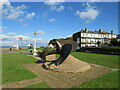 SZ5096 : War memorial on East Cowes Esplanade by Malc McDonald