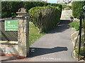 SY6880 : Keeping a gap in Greenhill Gardens by Neil Owen