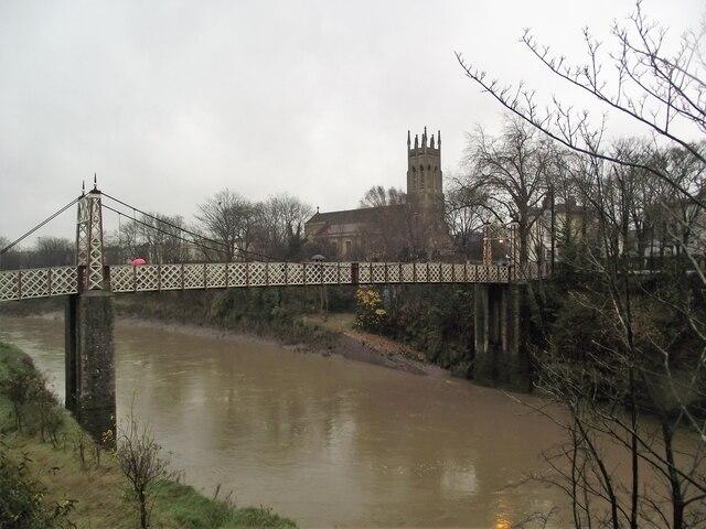 Gaol Ferry Bridge spans the New Cut
