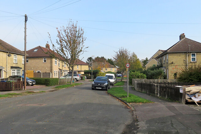 Chesterton: Ramsden Square - north-west side