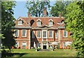SU4431 : Sparsholt - Lainston House by Colin Smith