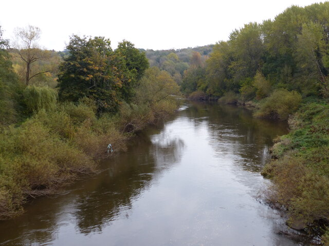 River Severn at the Severn Valley Country Park