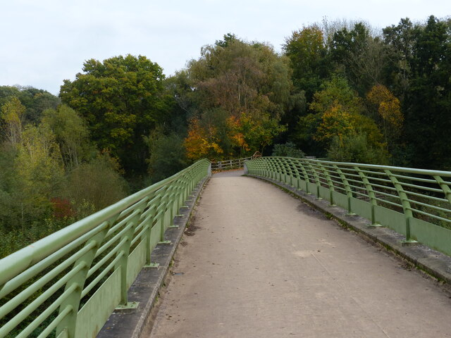 Footbridge across the River Severn