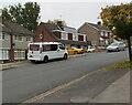 ST3091 : Jeff Brimmell white van, Rowan Way, Malpas, Newport by Jaggery