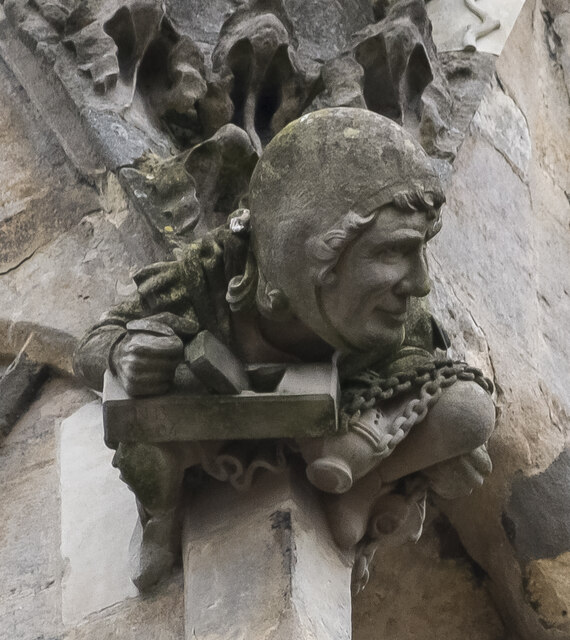 Lincoln Cathedral, Stone pinnacle carving