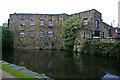 SD8332 : An old mill, Burnley by Chris Allen