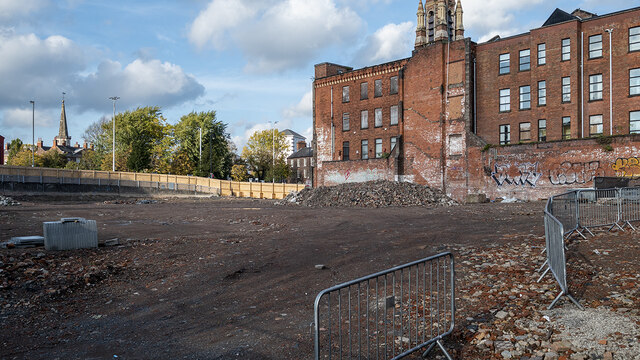 Development site, Belfast