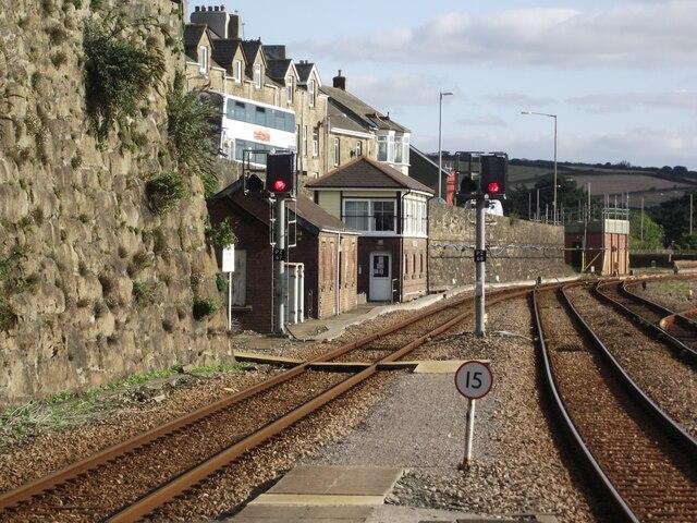 Signal box at Penzance