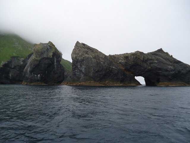 Stacs in the Sound of Soay