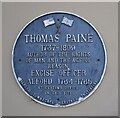 TF4576 : Plaque on the hotel by Bob Harvey
