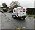 ST3091 : South Wales Emergency Glazing van, Almond Drive, Malpas, Newport by Jaggery