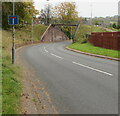 ST3091 : No Through Road sign, Pilton Vale, Newport by Jaggery