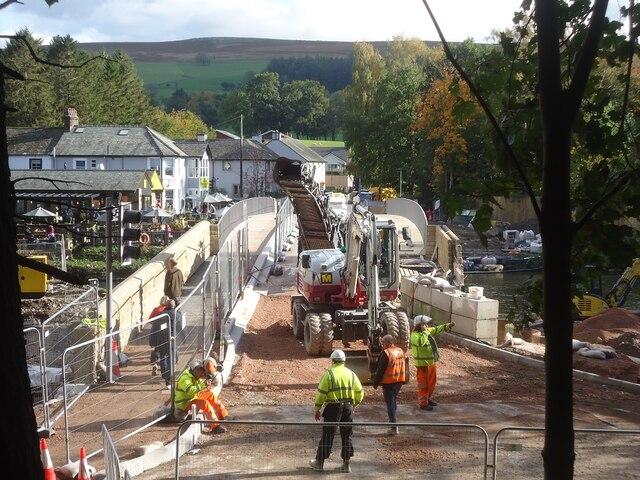 The new Pooley Bridge