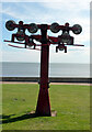 TA0390 : Derelict chair lift machinery, North Bay, Scarborough by habiloid