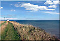 TA0293 : The Cleveland Way approaching Long Nab Bird Observatory from the south by habiloid