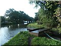 SJ9924 : Movable bridge, Trent & Mersey canal towpath by Christine Johnstone