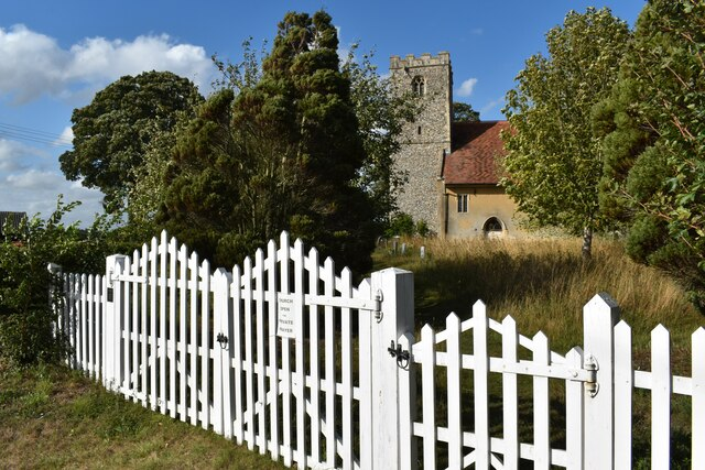Churchyard gates, St. Gregory's Church, Hemingstone