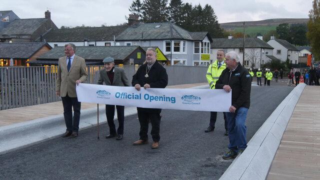 """""""I now declare the new Pooley Bridge open"""""""