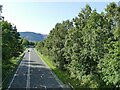 NY2624 : A66 north of Keswick by Stephen Craven