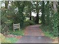 SZ5091 : Medina Greenway near Newport by Malc McDonald