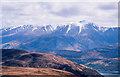 NN0373 : Continuation of the ridge, Bràigh Bhlàich by Trevor Littlewood