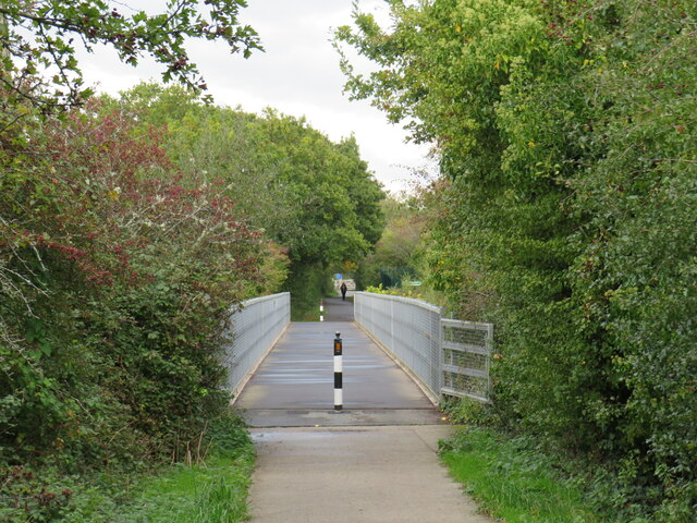 Bridge on the Red Squirrel Trail near Newport