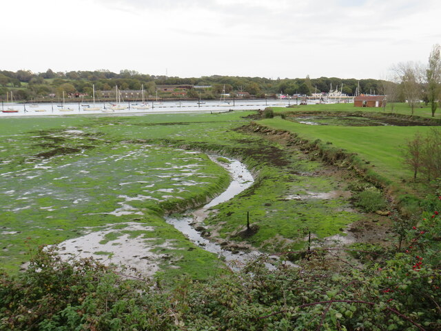 Tidal inlet near Cowes
