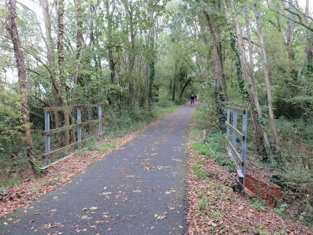 Red Squirrel Trail near Cowes