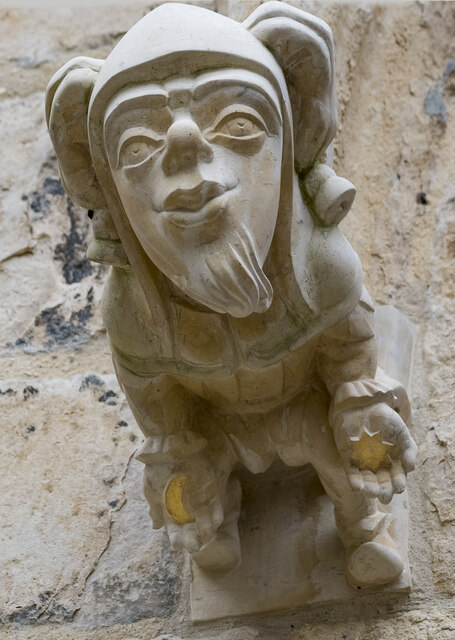 New Carving on Exchequergate, Lincoln