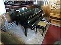 SO5541 : Grand piano inside St. Peter's Church (South aisle | Lugwardine) by Fabian Musto