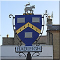 TM0242 : Hadleigh town sign by Adrian S Pye