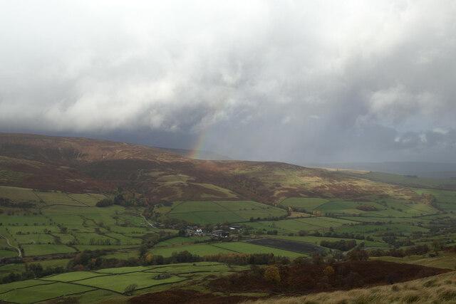 Rainbow over Nether Moor