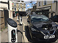 TQ3370 : Electric car charging points, St Aubyn's Road, Crystal Palace, southeast London by Robin Stott