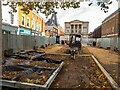 SK9771 : Former site of the Cornhill Kiosk, Lincoln by Oliver Mills