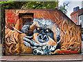 SJ8498 : #ProtectPongo (Tib Street Substation) by David Dixon