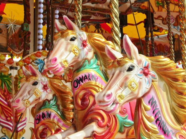 Cardiff Bay - Gallopers