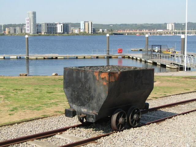 Cardiff Bay - Coal Truck