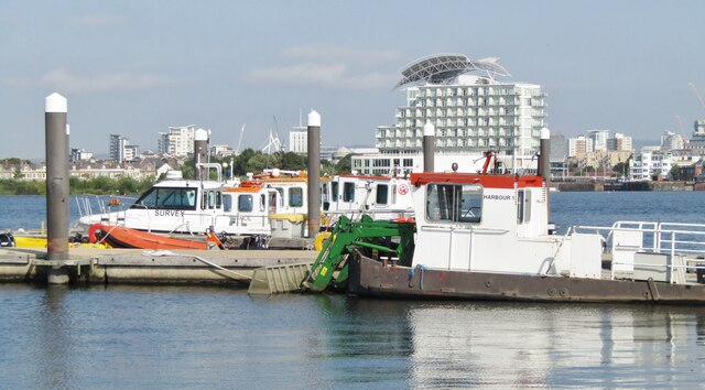 Cardiff Bay - Harbour Craft