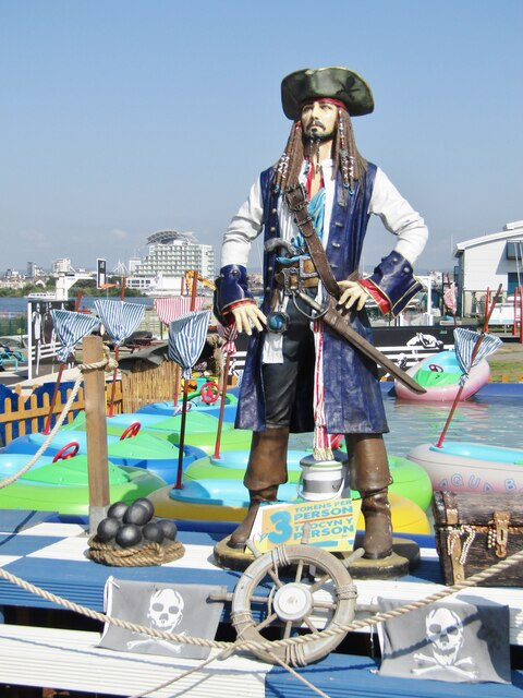 Cardiff Bay - Pirate of the Caribbean